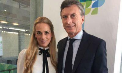 Lilian Tintori es la esposa de Leopoldo López