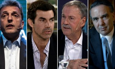 Massa, Urtubey, Schiaretti y Pichetto quieren ser la alternativa de 2019