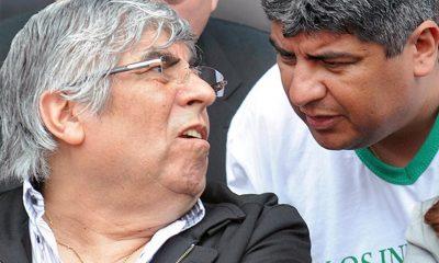 Hugo Moyano amenazó con generar caos si detienen a su hijo