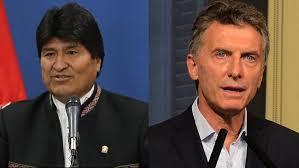 Evo Morales y Mauricio Macri se vuelven a encontrar en Argentina