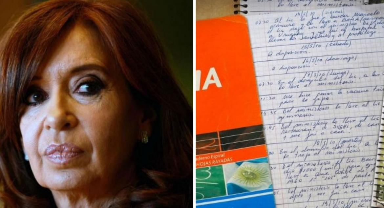 CFK, otra vez implicada en la causa de los cuadernos