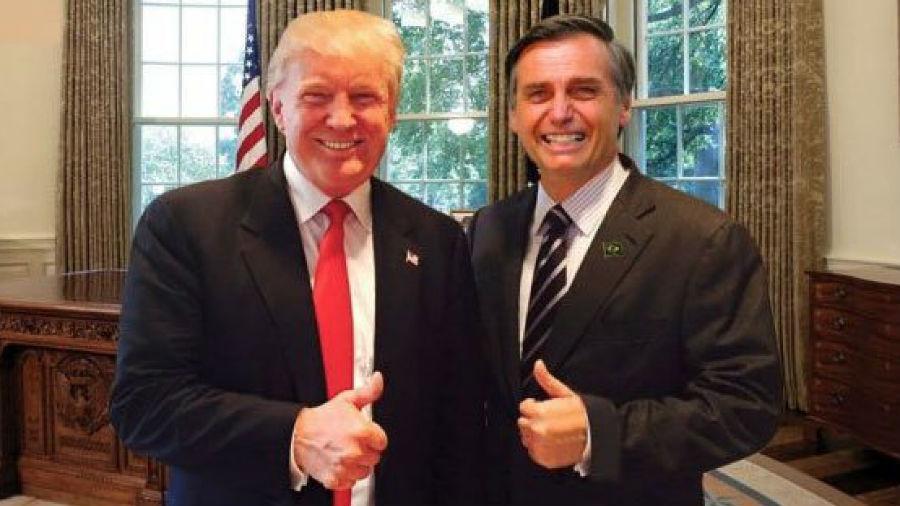 Donal Trump y Jair Bolsonaro buscan un acuerdo comercial
