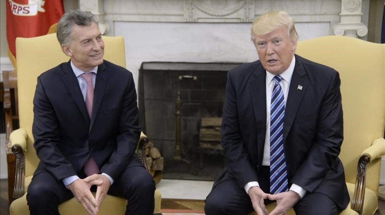 Argentina y EUA se dirigen a un acuerdo de libre comercio