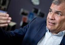 Rafael Correa, condenado por sobornos en Ecuador