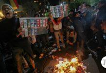 Disturbios en Bolivia